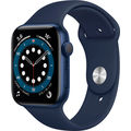 Apple Watch Series 6 GPS 44mm Aluminum Case with Sport Band Blue/Deep Navy (РСТ)